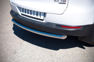VolksWagen Tiguan Sport and Style защита заднего бампера d63  VGZ-000985